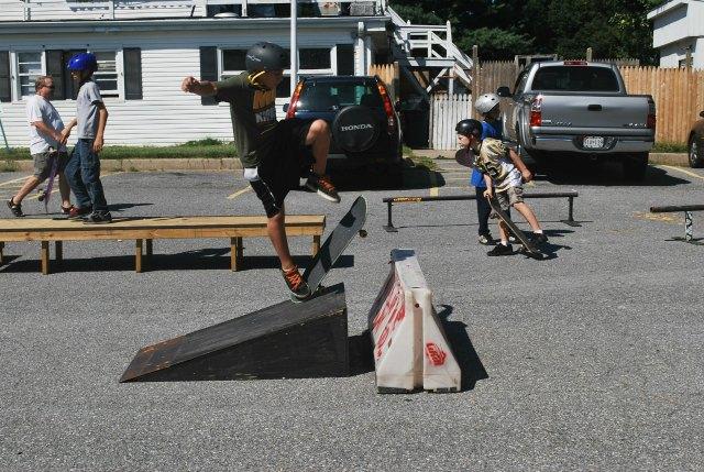 Garden skatepark ideas