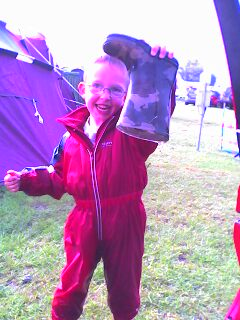 camping with kids and toddlers in the rain