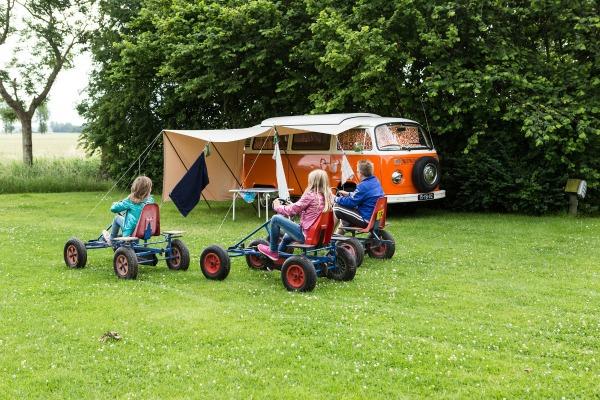 kids camping outdoor fun