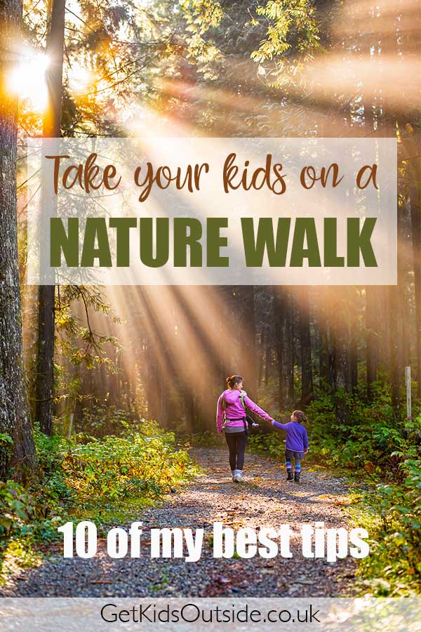tips for a nature walk with kids